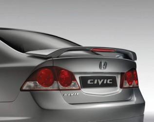 Спойлер  багажника Honda Civic со стоп сигналом Modulo 2006-2011 ABS пластик под покраску