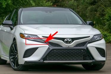 Накладка бампера под фару правая Toyota Camry SE / XSE 70 2018+